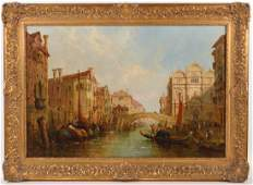 Jane Vivian 'The Doge's Palace in Venice' O/C