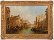 Jane Vivian 'The Doge's Palace in Venice' O/C