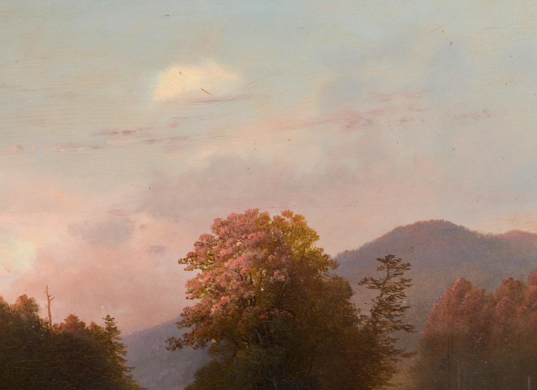 Attributed to James McDougal Hart Oil Painting - 5