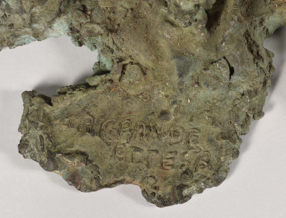 Two Robert Bery Drip Bronze Sculptures - 2