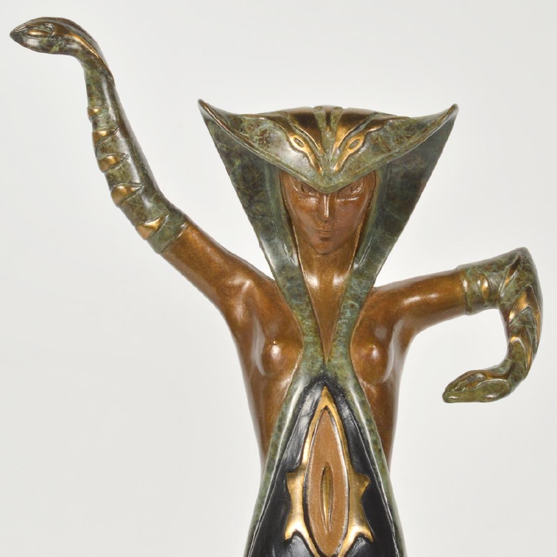 Erte Bronze 'La Jalousie' Sculpture - 2