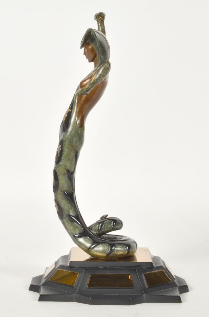 Erte Bronze 'La Jalousie' Sculpture - 3