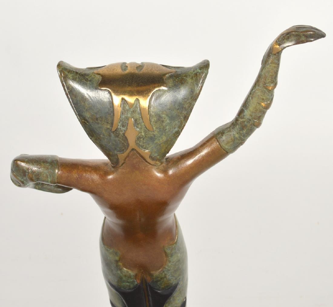 Erte Bronze 'La Jalousie' Sculpture - 6