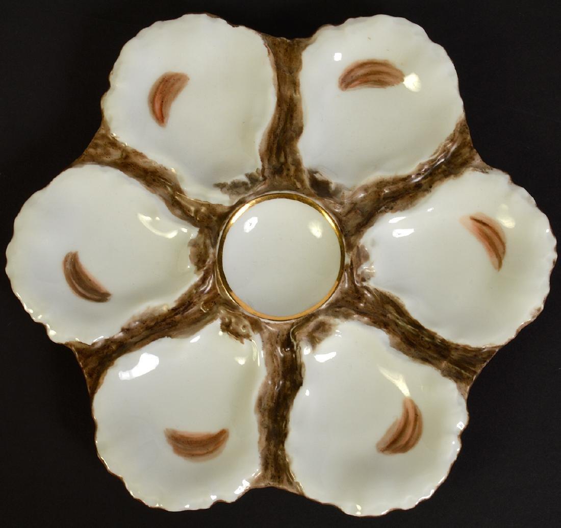 8 Haviland H&C Limoges Oyster Plates - 8