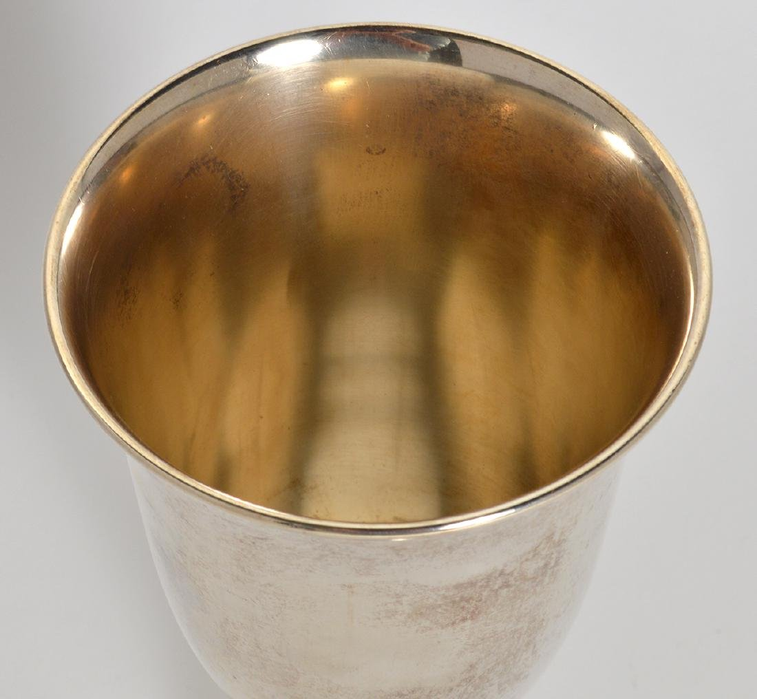 14 S. Kirk & Sons Sterling Water Goblets - 3