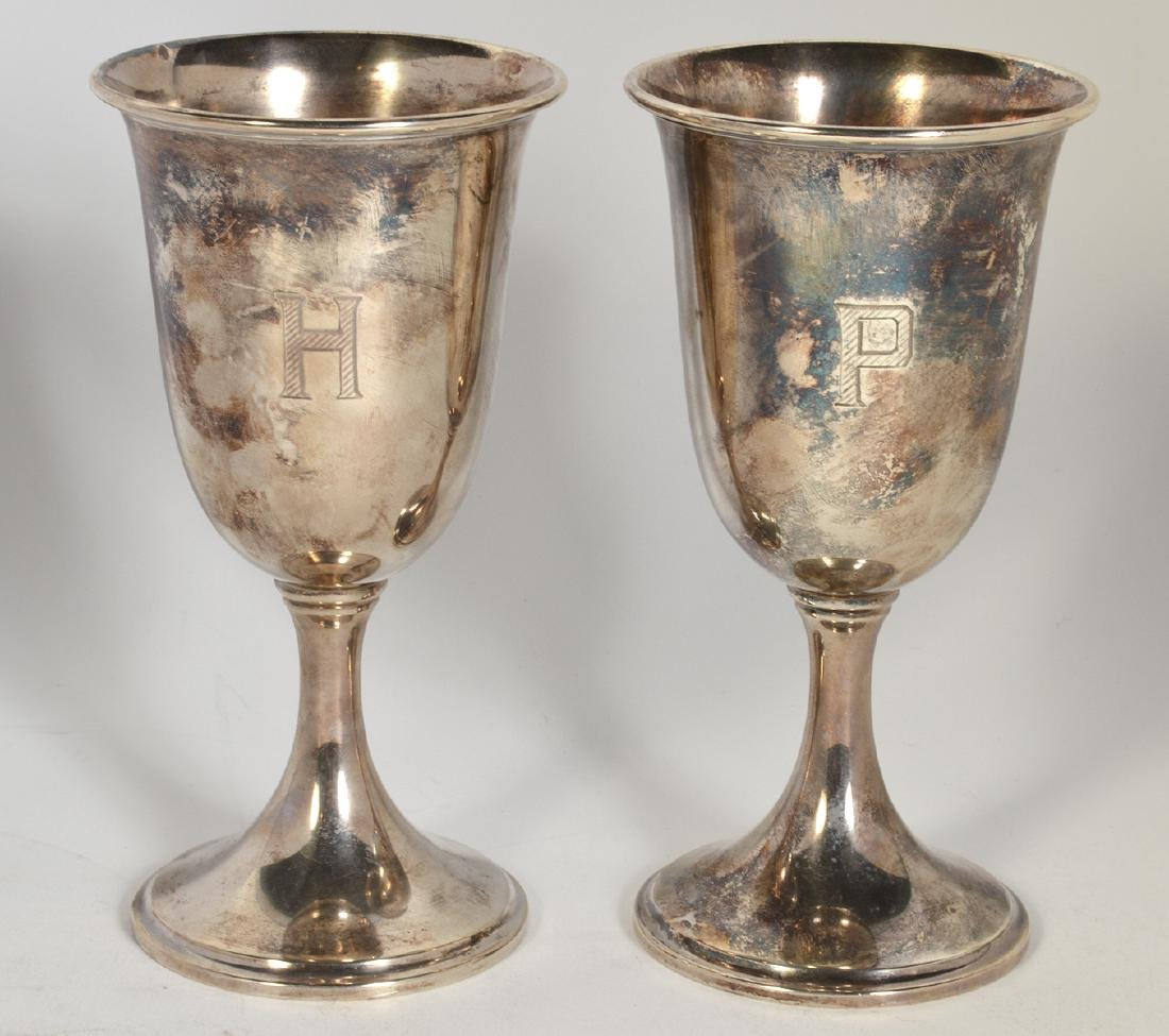 14 S. Kirk & Sons Sterling Water Goblets - 6
