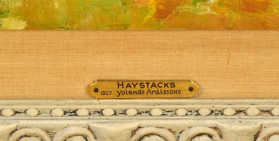 "Yolande Ardisonne ""Haystacks"" O/C - 3"