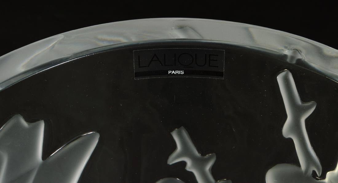 Lalique 'Ispahan' Rose Pattern Vase - 2