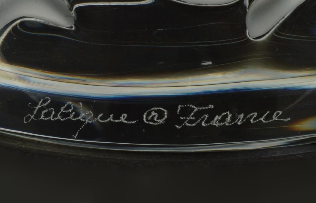 Lalique 'Ispahan' Rose Pattern Vase - 3