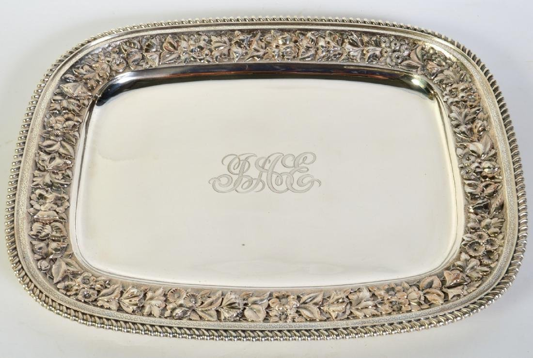 J.E. Caldwell Sterling Silver Gallery Tray