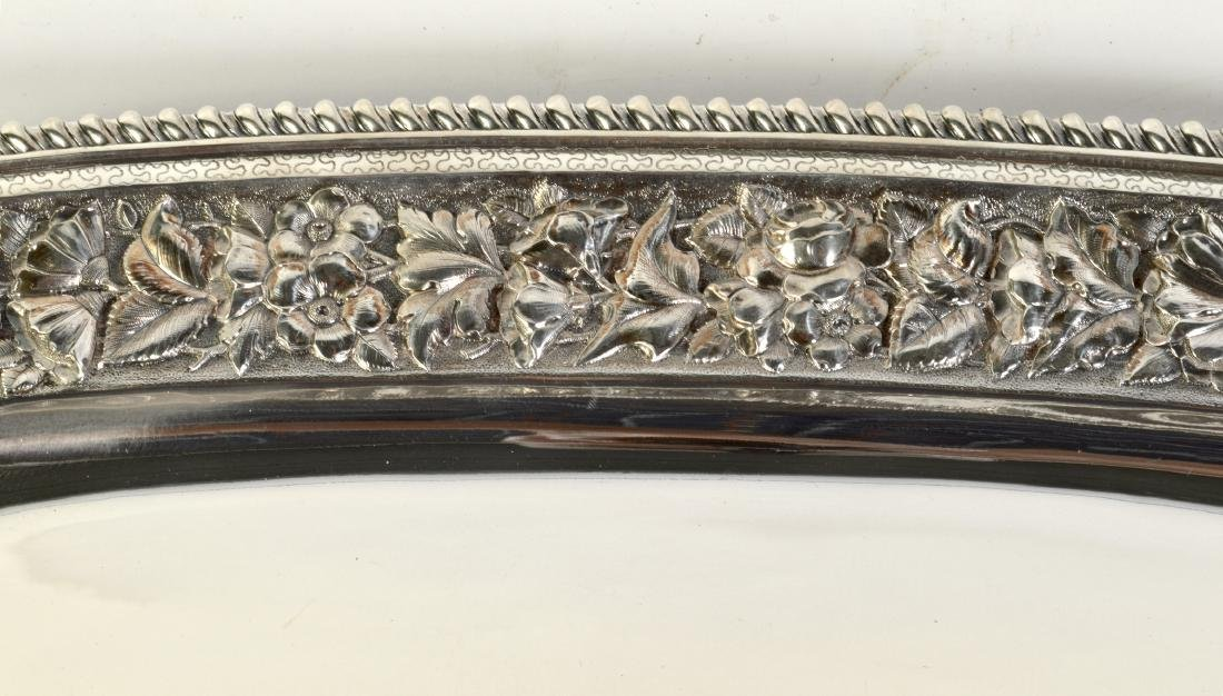 J.E. Caldwell Sterling Silver Gallery Tray - 2