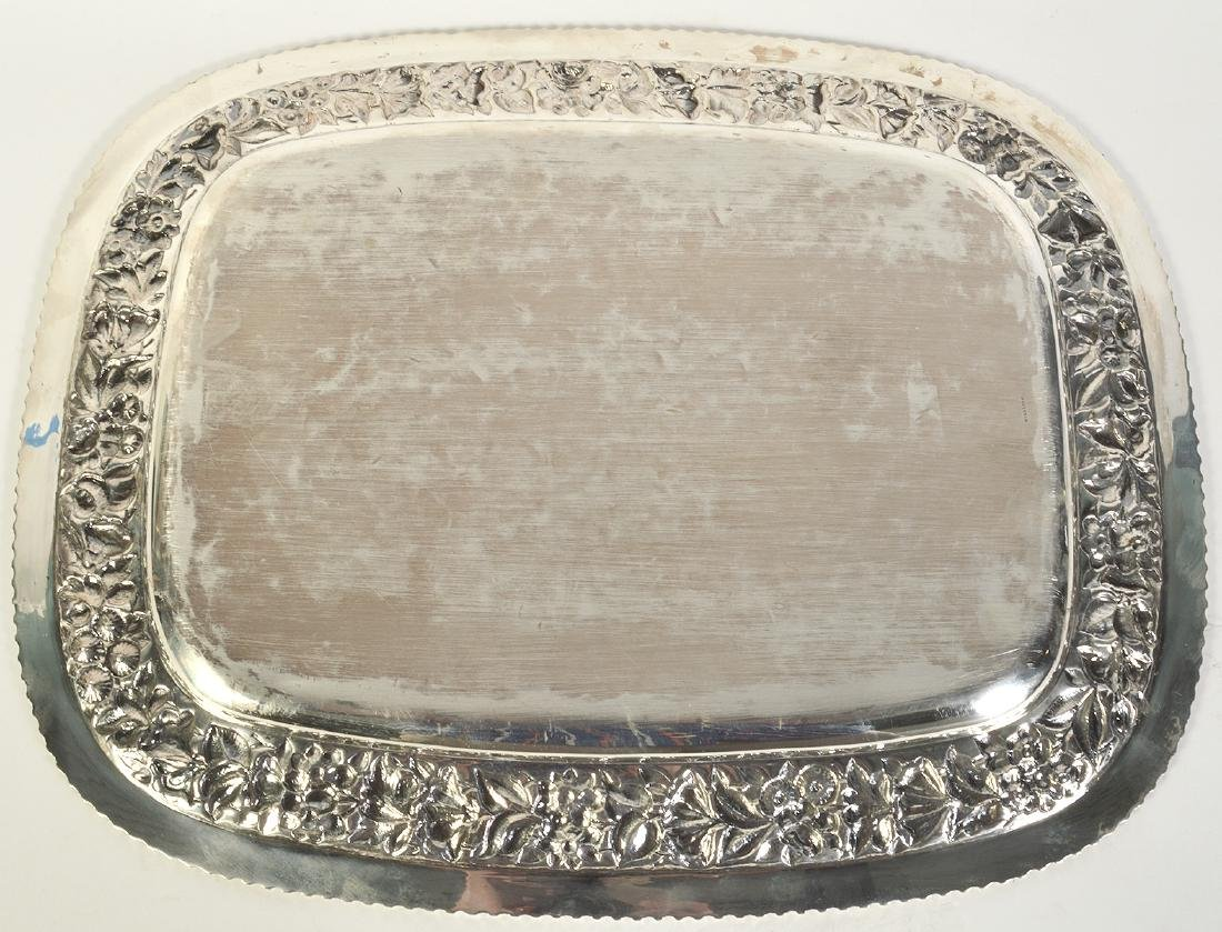J.E. Caldwell Sterling Silver Gallery Tray - 4