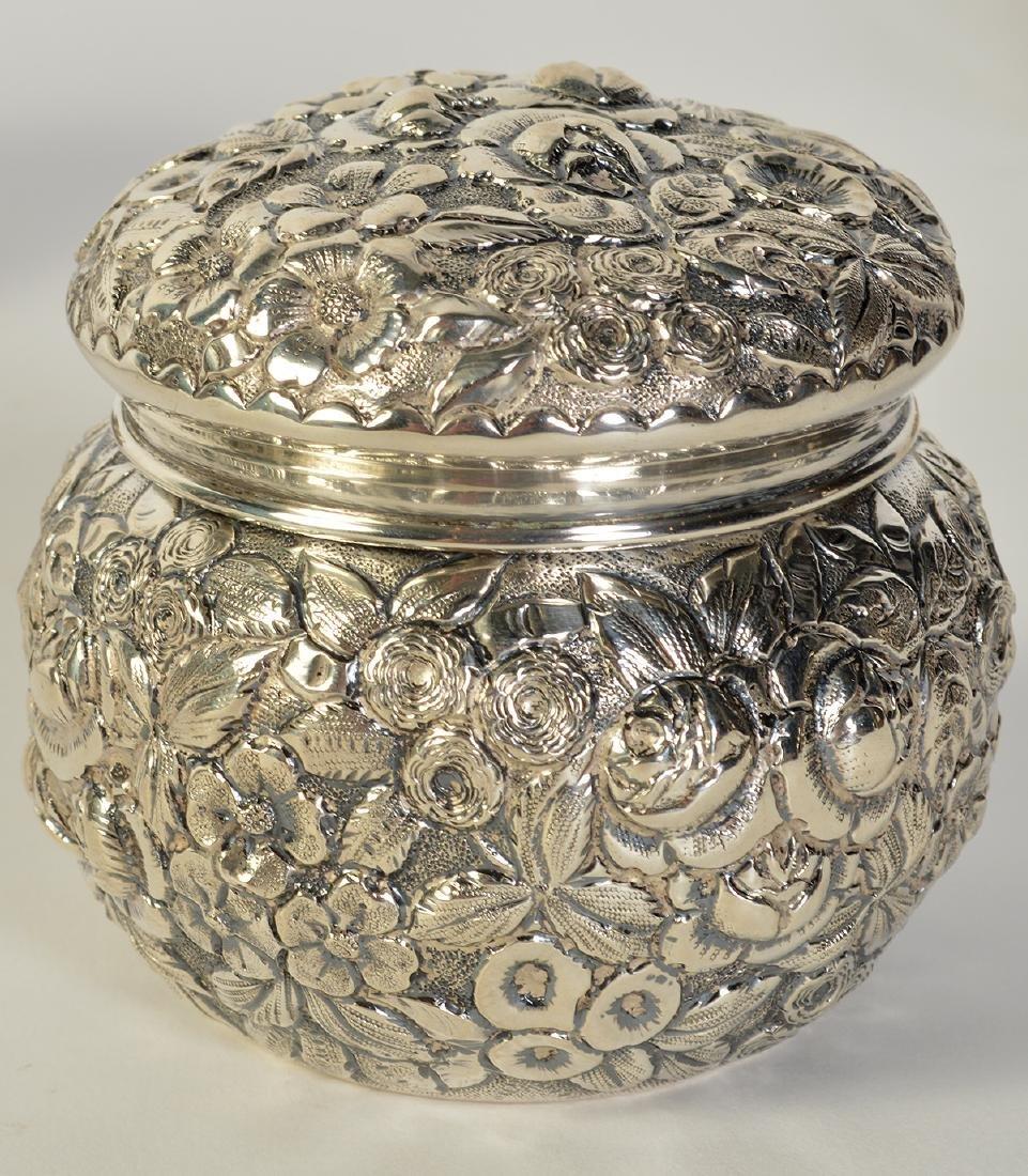 James R. Armiger Sterling Covered Jar