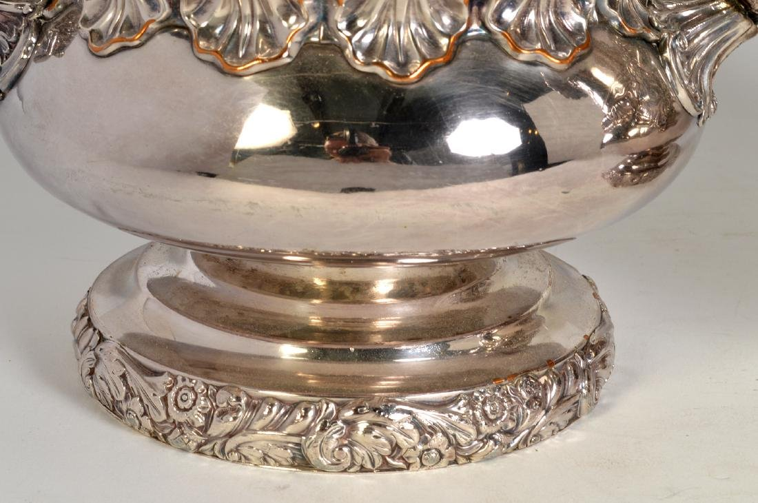 Pr. 19th C. Old Sheffield Silverplate Wine Coolers - 3