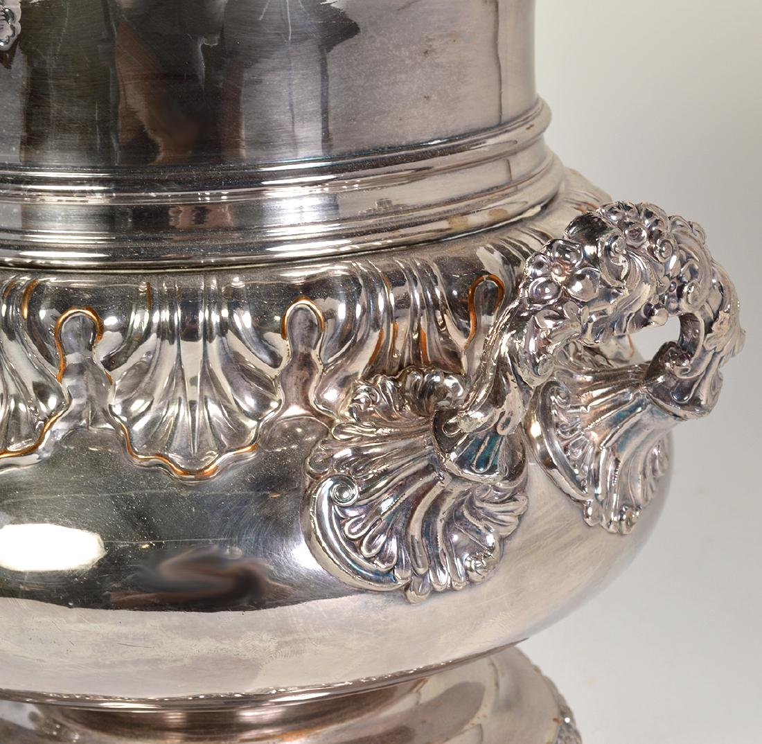 Pr. 19th C. Old Sheffield Silverplate Wine Coolers - 4
