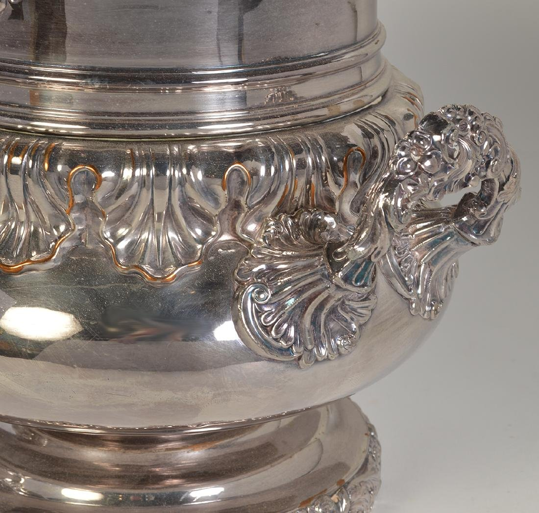 Pr. 19th C. Old Sheffield Silverplate Wine Coolers - 5