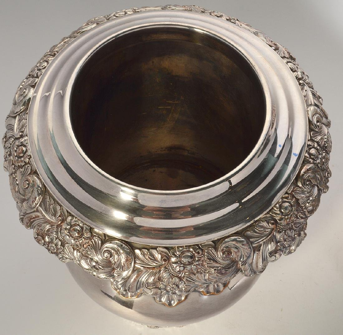 Pr. 19th C. Old Sheffield Silverplate Wine Coolers - 6