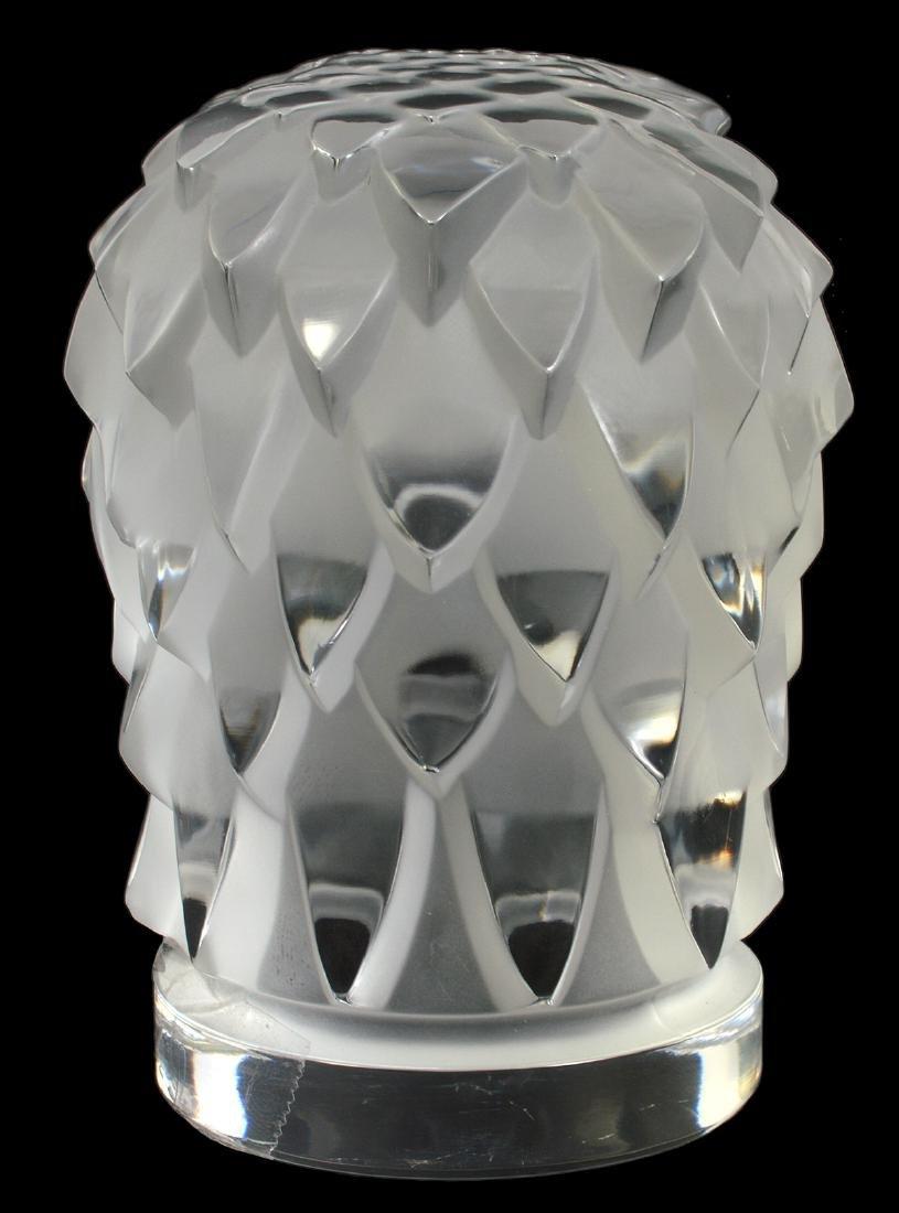 Lalique Crystal Eagle Head - 3