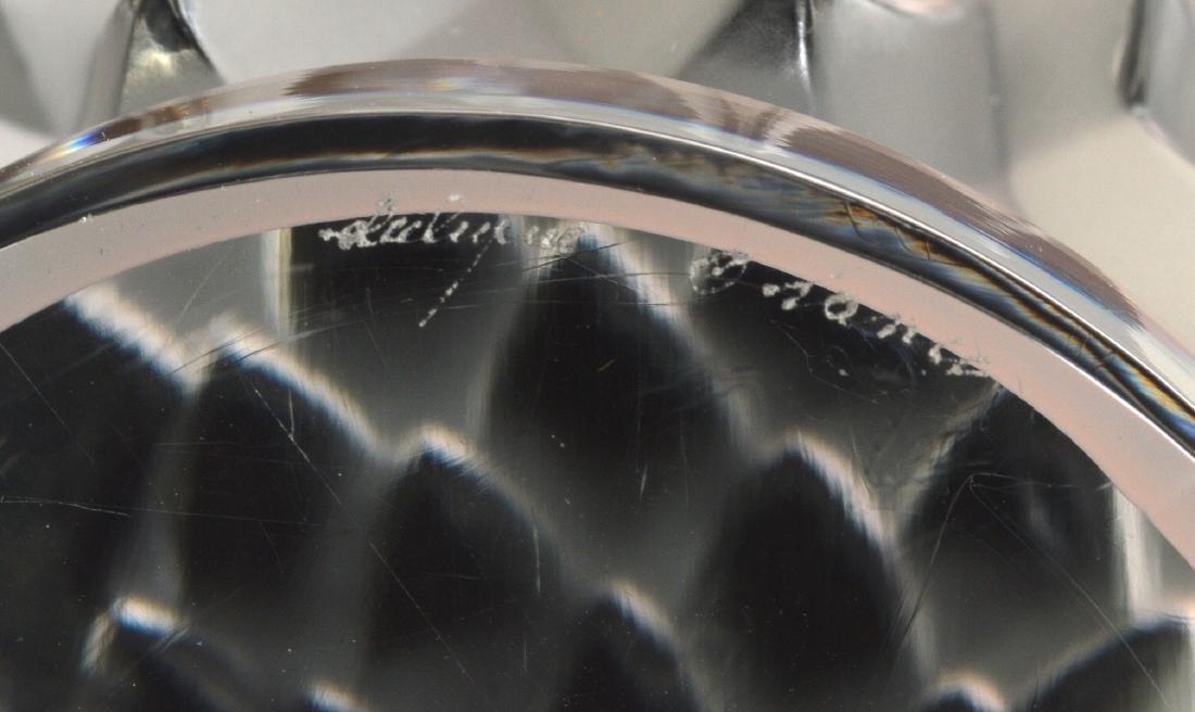 Lalique Crystal Eagle Head - 4