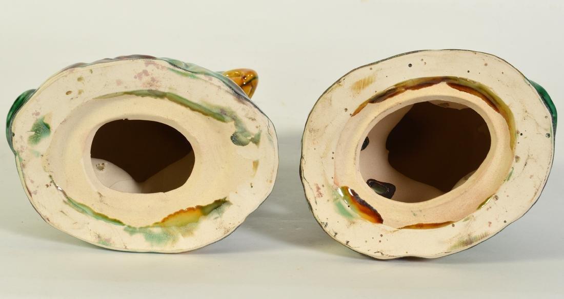 Pr. Glazed Porcelain Bird Figurines - 5