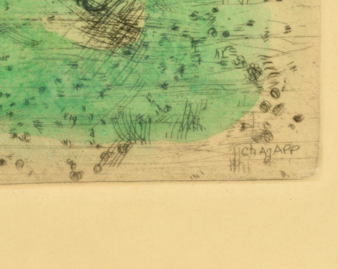Marc Chagall Colored Etching - 3