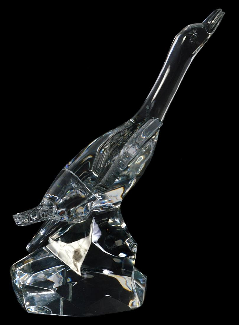 Baccarat Large Crystal Mallard - 4