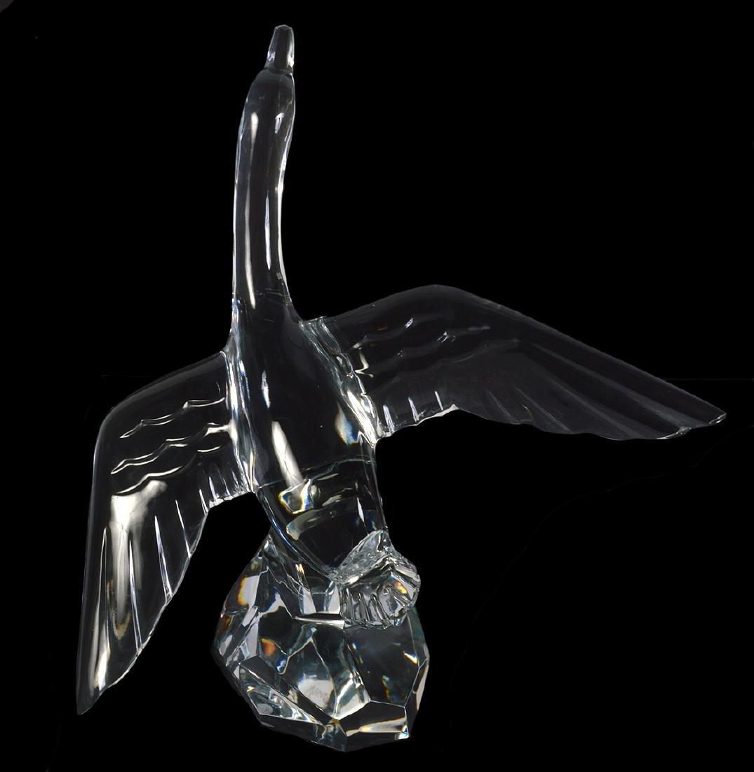 Baccarat Large Crystal Mallard - 7