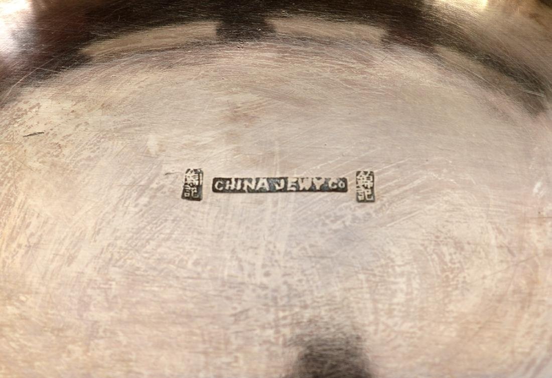 Chinese Sterling Basket by Tuck Chang - 5