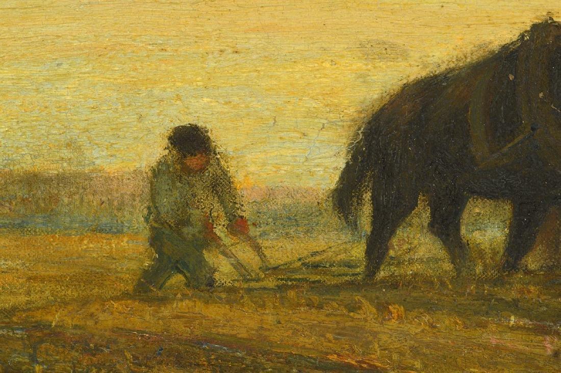 "Frederick W. Hutchinson ""Plow Horses"" O/C - 5"