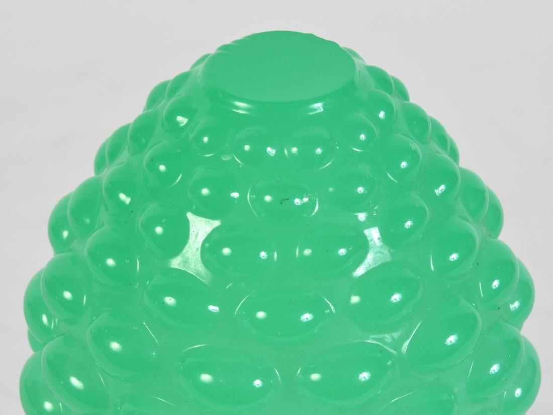 Antique Green Opaline Boule Escalier Newel Post - 5