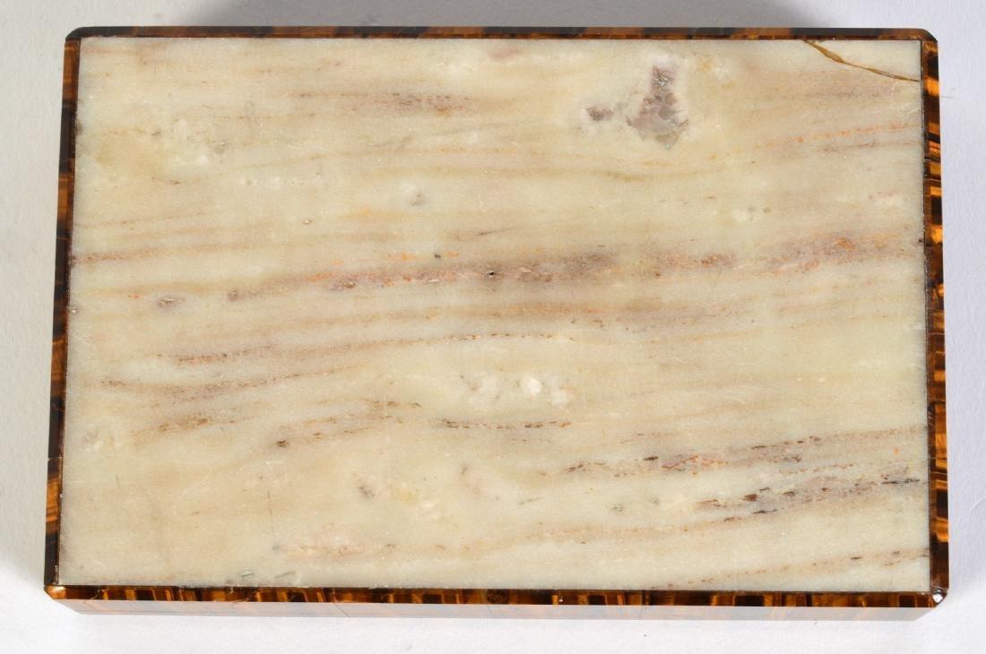 Tiger Eye Gemstone Lidded Box - 6