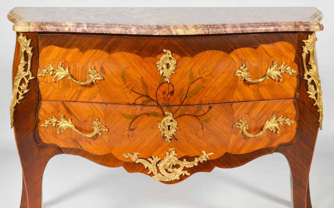 French Marble Top Commode Late 18th/19th C. - 2
