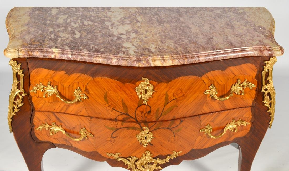 French Marble Top Commode Late 18th/19th C. - 3