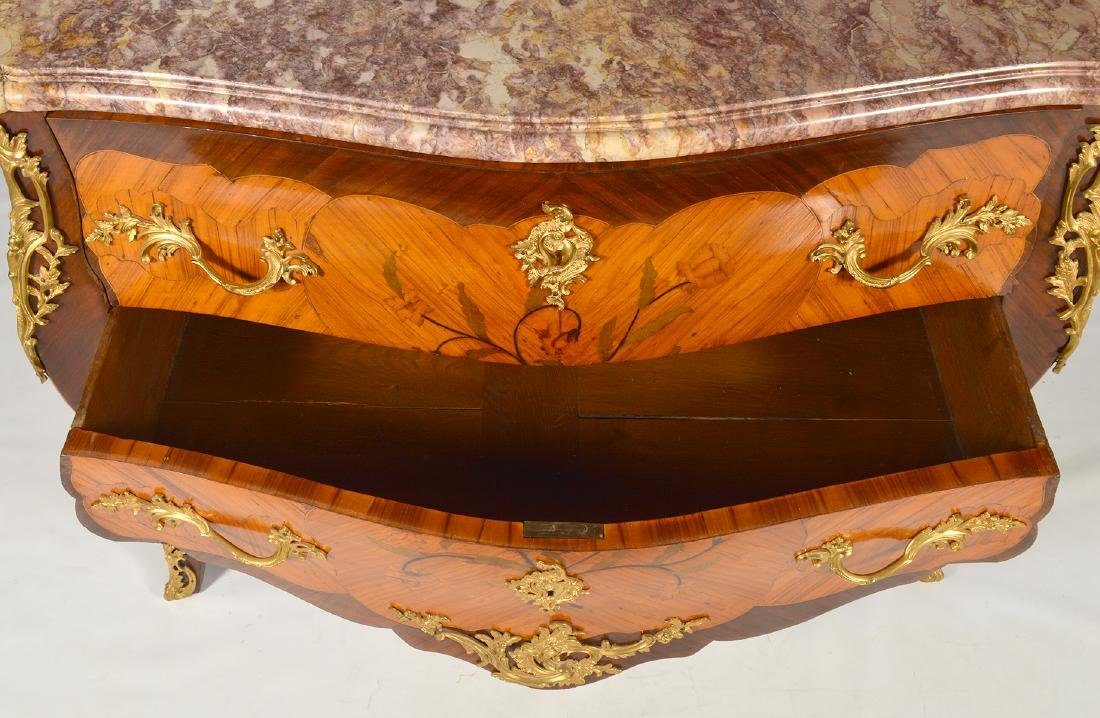 French Marble Top Commode Late 18th/19th C. - 8