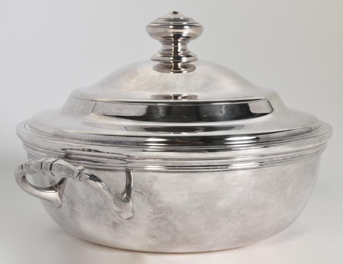 Christofle Silverplate 'Albi' Soup Tureen W/ Lid - 2