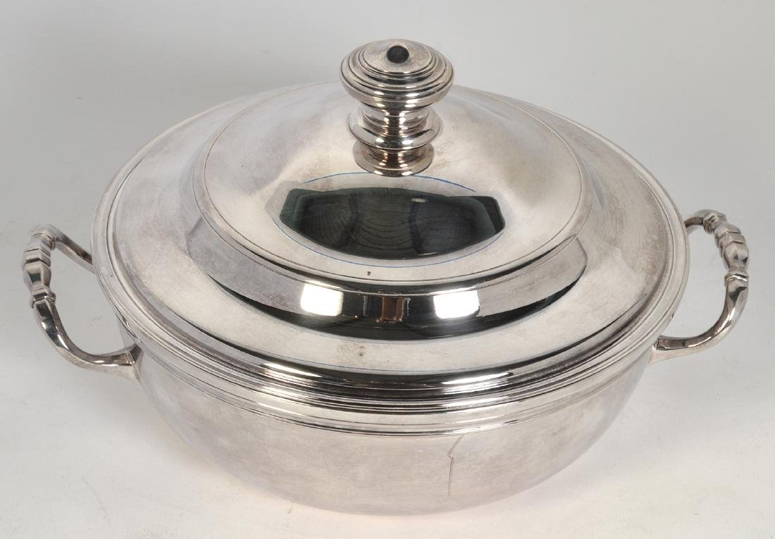 Christofle Silverplate 'Albi' Soup Tureen W/ Lid - 5