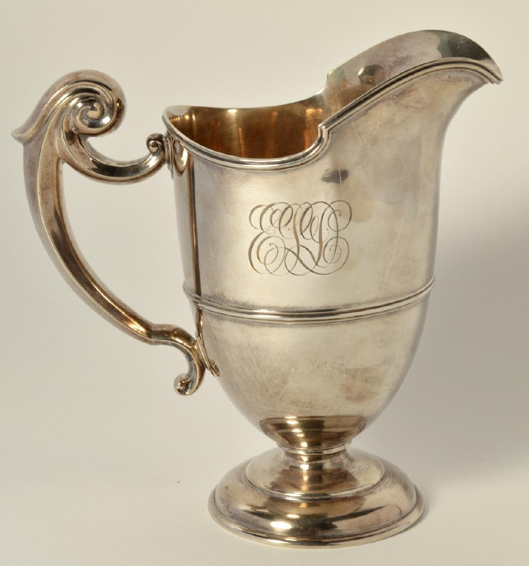 Sterling Silver Pitcher