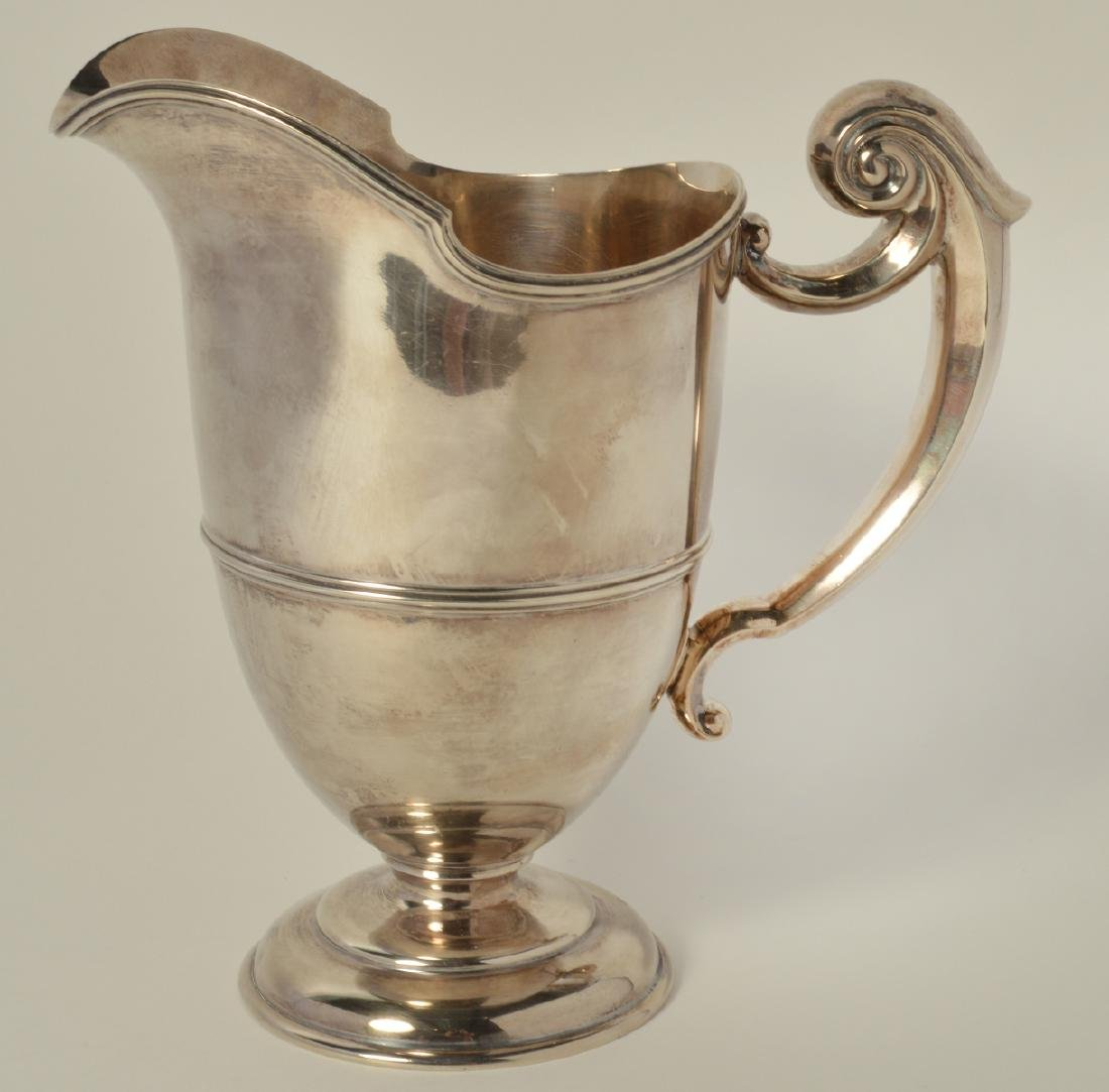 Sterling Silver Pitcher - 3