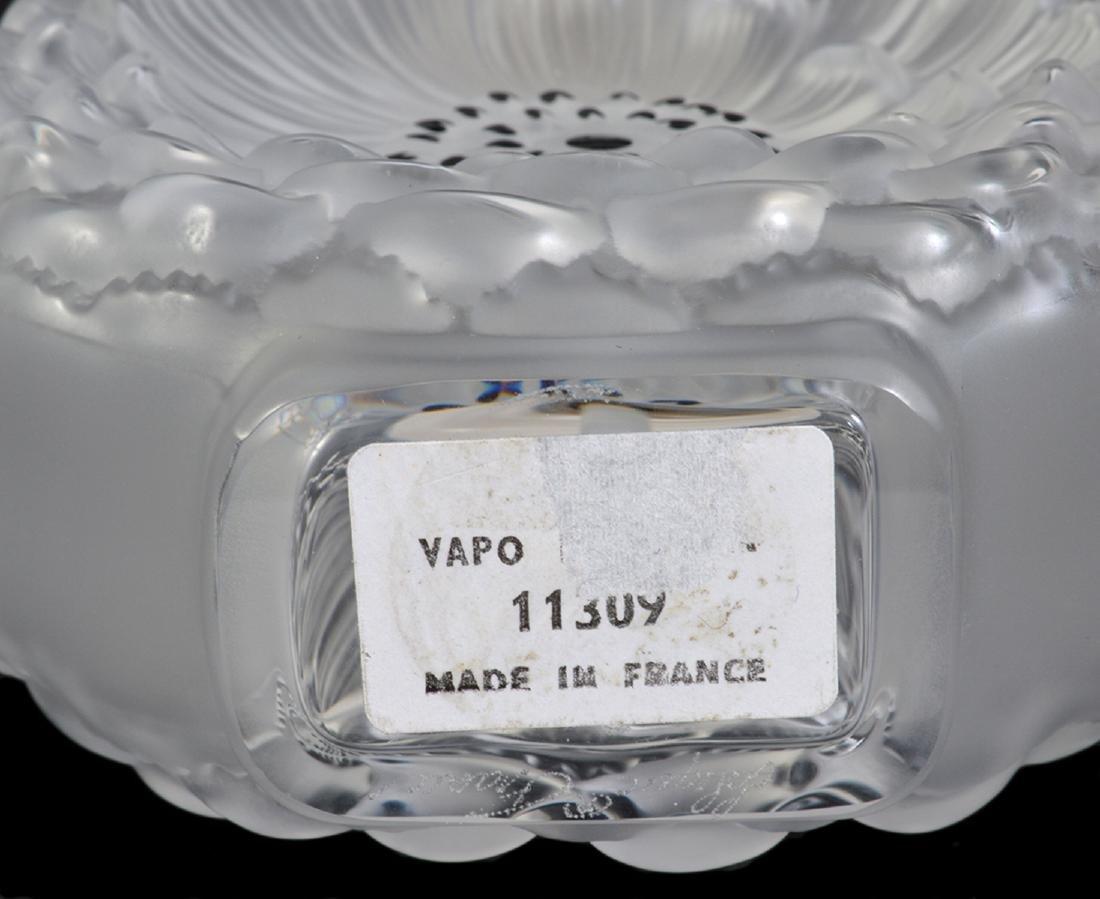 Lalique Dahlia Perfume Bottle W/ Atomizer - 3
