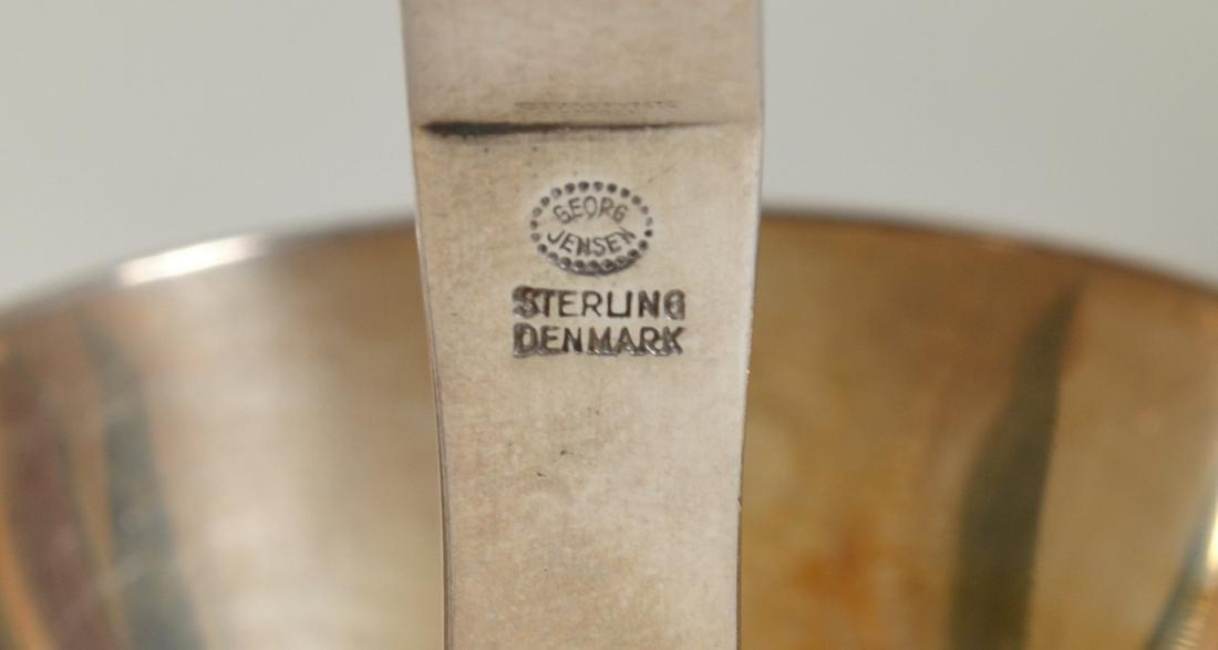 Georg Jensen Sterling Silver 'Pyramid' Ladle - 4