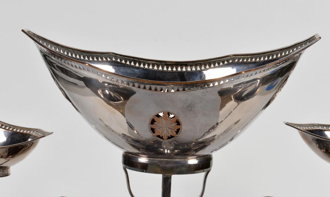 George III Late 18th C. Sheffield Plated Epergne - 2