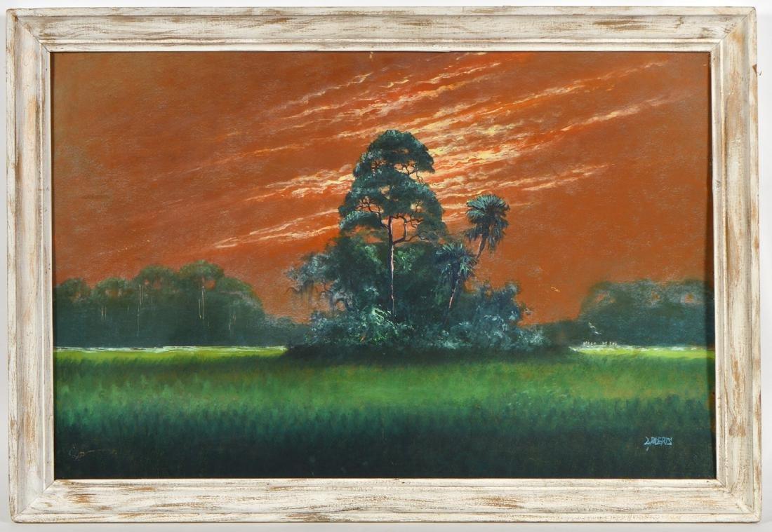 Livingston Roberts Highwaymen Painting O/B - 2
