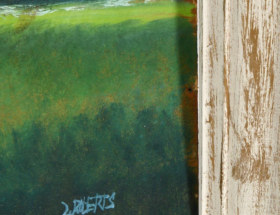 Livingston Roberts Highwaymen Painting O/B - 9