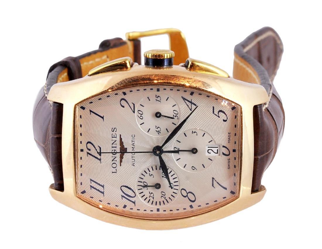 Longines 18K Gold Men's Evidenza Watch