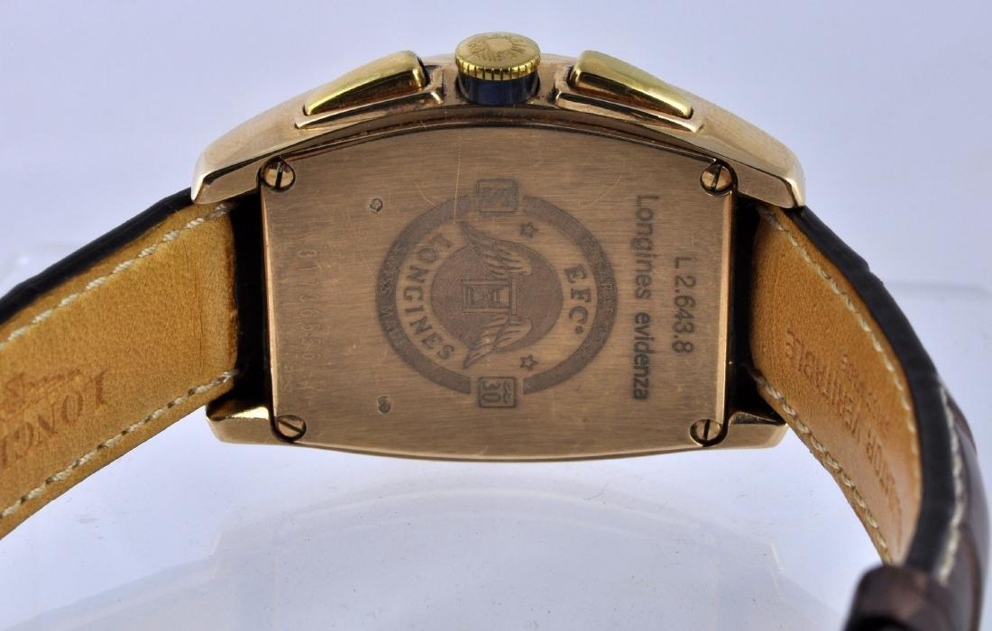 Longines 18K Gold Men's Evidenza Watch - 4
