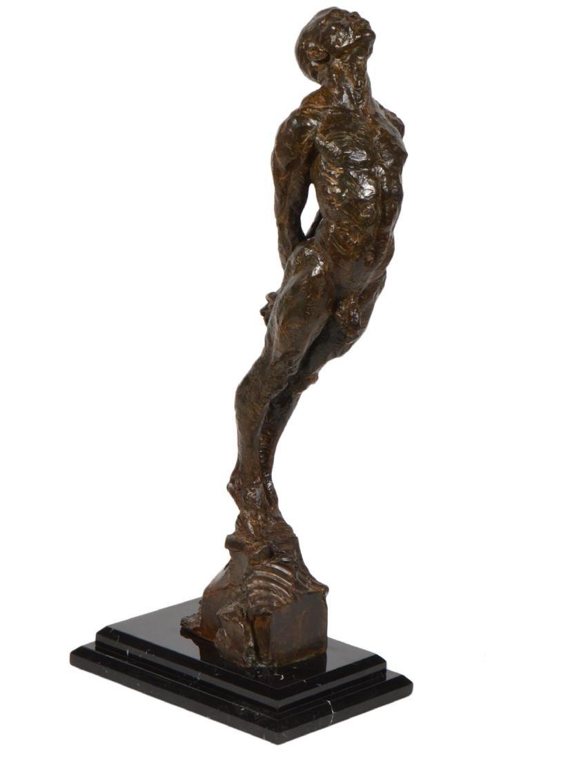 Richard MacDonald 'I Am' Bronze Sculpture