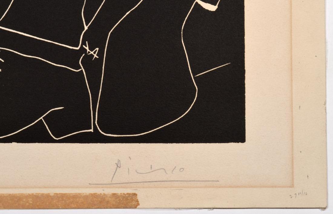 Pablo Picasso Linocut on Arches Paper - 4