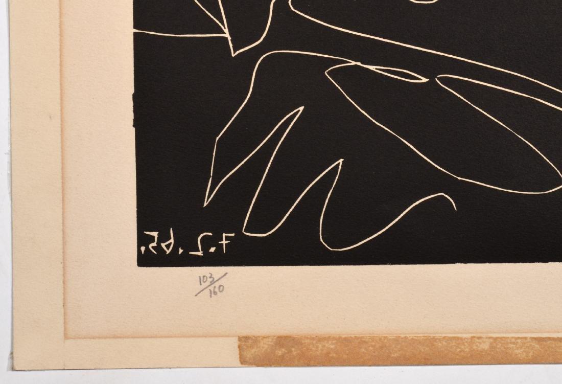 Pablo Picasso Linocut on Arches Paper - 5