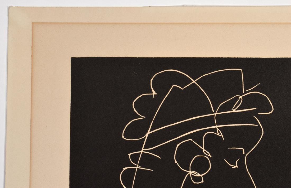 Pablo Picasso Linocut on Arches Paper - 6