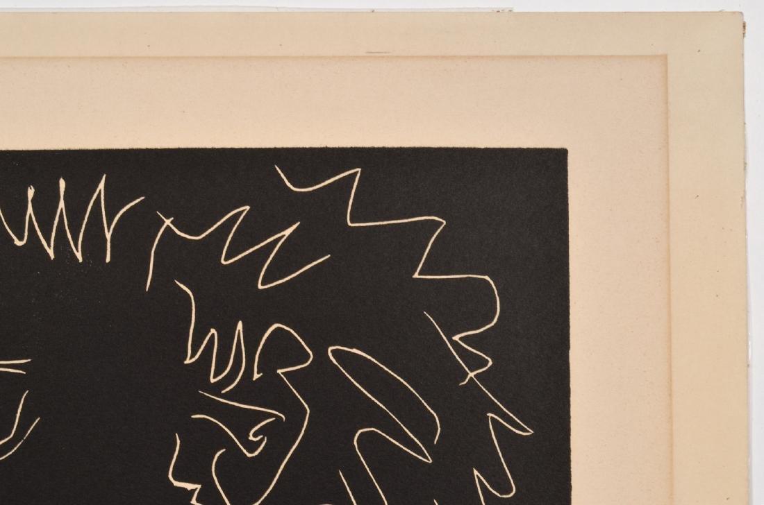 Pablo Picasso Linocut on Arches Paper - 7